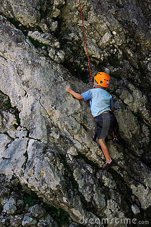 Free Kid Climbing Royalty Free Stock Images - 4744809
