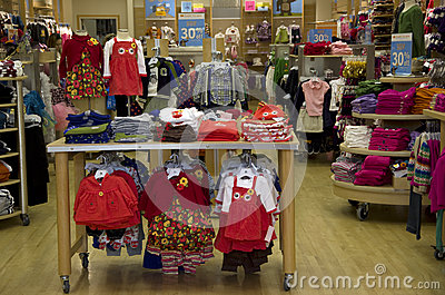 American kid clothing store. Girls clothing stores
