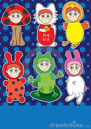 Kid Costume Play Set_eps