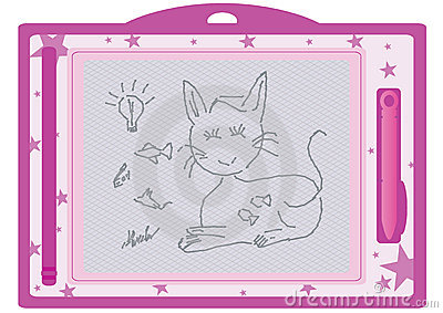 Kid Erasable Drawing Board_eps