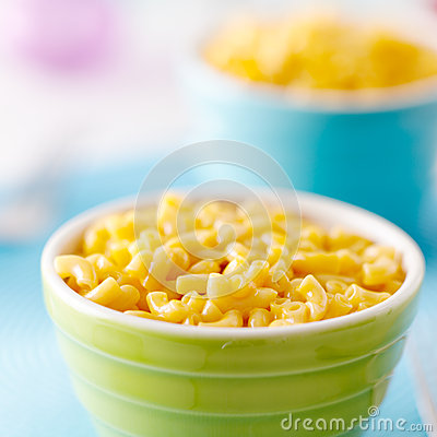 Free Kid Food - Macaroni And Cheese Royalty Free Stock Photo - 26454295