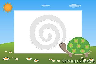Kid frame - turtle