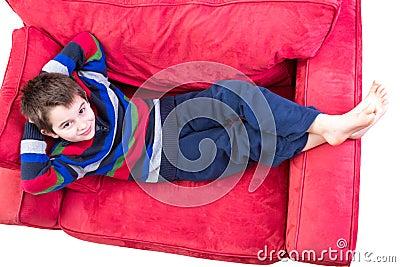 Kid in his Comfort Zone