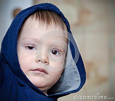 Kid in a hood