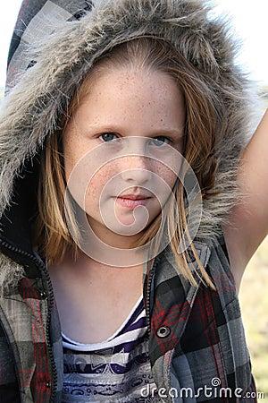 kid with jacket