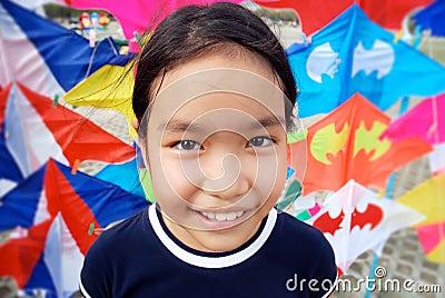 Kid kites