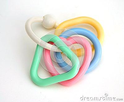 Kid s rattle rings