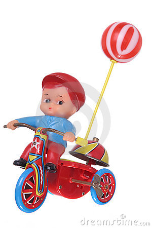 Free Kid S Wind-up Retro Toy Royalty Free Stock Images - 6575329