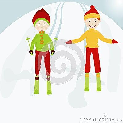 Kid skiers1