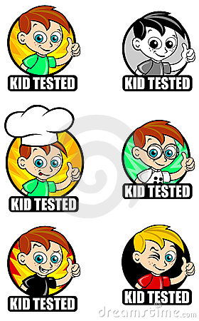 Kid Tested Seal / Mark