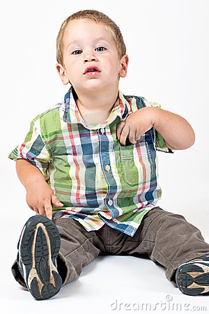 Free Kid With Attitude Stock Photography - 16892902
