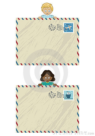 Kids airmail