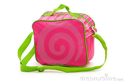 Kids bag isolated