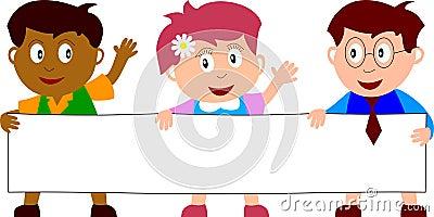 Kids & Banner [3]
