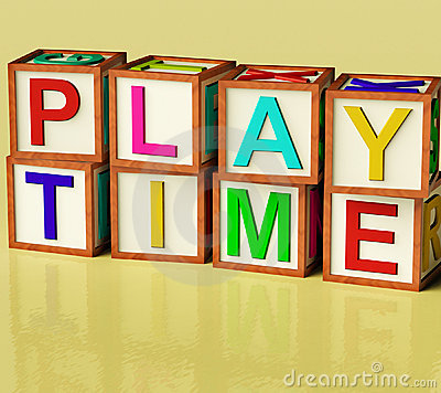 Kids Blocks Spelling Play Time