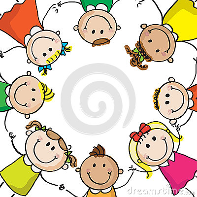 Free Kids Circle Stock Photo - 26824430