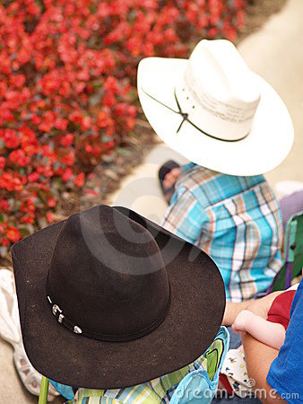 Kids with Cowboy Hats