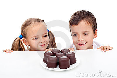 Kids craving sweets
