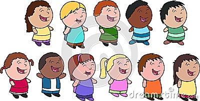 Kids - a diverse group
