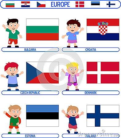 Kids & Flags - Europe [2]
