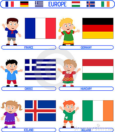 Kids & Flags - Europe [3]