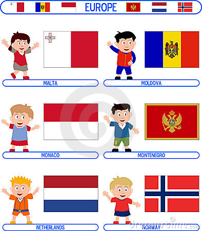 Kids & Flags - Europe [5]