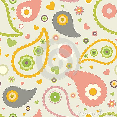 Free Kids Floral Pattern Stock Photos - 32821243