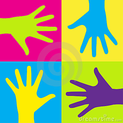 Kids hands