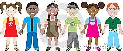 Kids Holding Hands 1