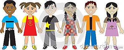 Kids Holding hands 5
