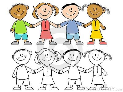 Kids Holding Hands Group Royalty Free Stock Photography - Image ...