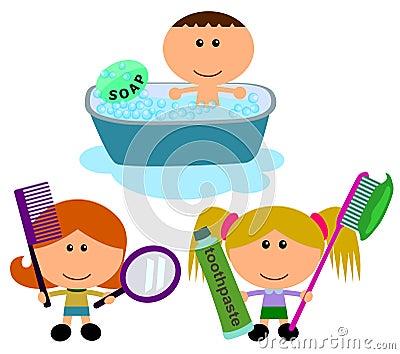Kids hygiene