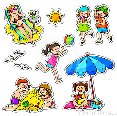 Free Kids In Summer Stock Photo - 24464540