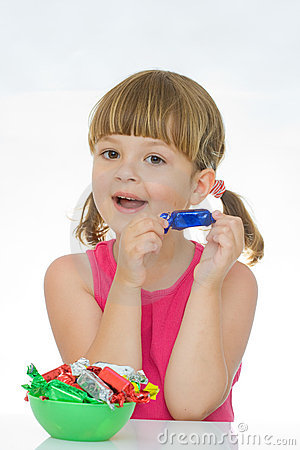 Free Kids Love Sweets Royalty Free Stock Images - 10461409
