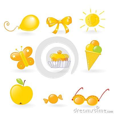 Kids love it- yellow
