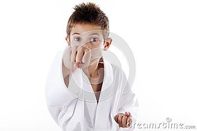 Kids in martial art
