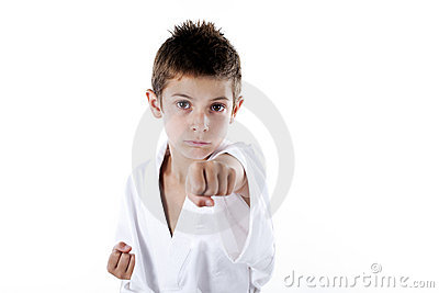 Kids in martial art
