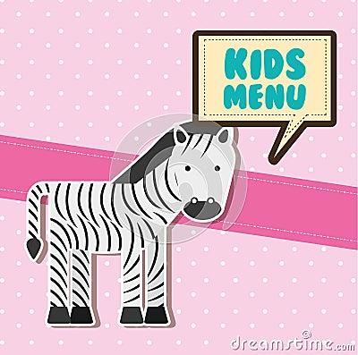 Free Kids Menu Royalty Free Stock Photography - 59855907