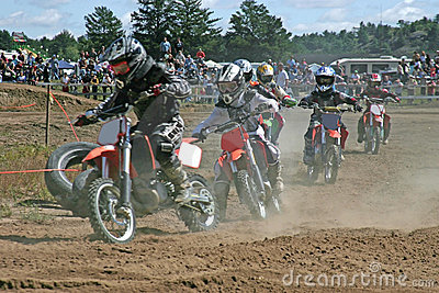 Kids moto cross racing