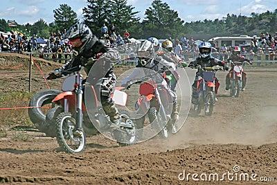 Kids moto cross racing