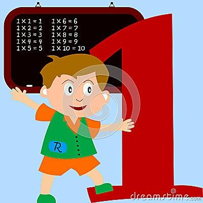 Kids & Numbers Series - 1
