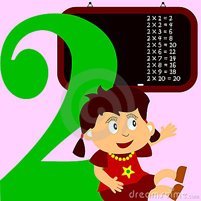 Kids & Numbers Series - 2