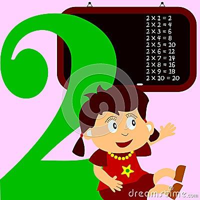 Kids & Numbers Series - 2