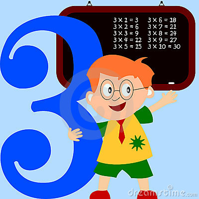 Kids & Numbers Series - 3