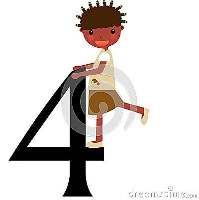 Kids & Numbers Series -4