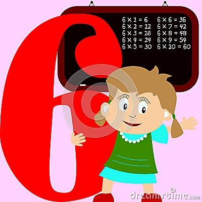 Kids & Numbers Series - 6
