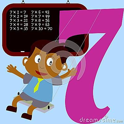 Kids & Numbers Series - 7