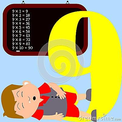 Kids & Numbers Series - 9