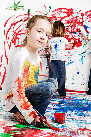 Kids Painting on Kids Painting  Click Image To Zoom