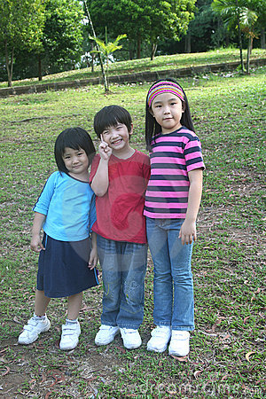 Kids at the park
